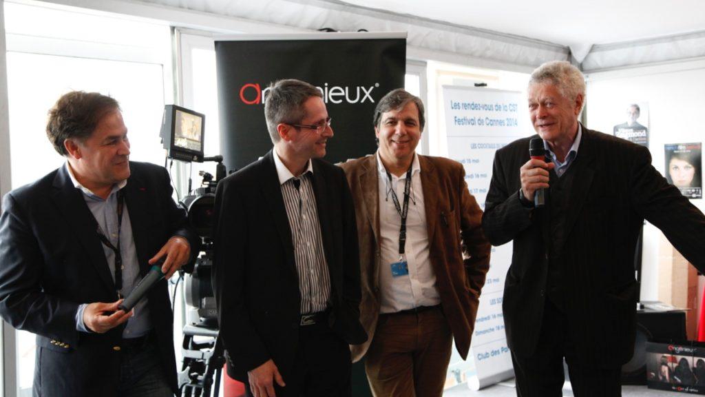 PW Glenn President CST P. Andurand Dg Thales Angenieux Marc Galerne DG de K5600 et Jacques Delacoux DG de Transvideo.jpeg