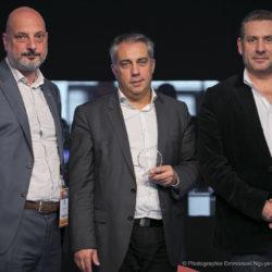 LaurentEydieu-PrsidentduSATIS - Gilles Sall - PDG AMP VISUAL TV - Stephan Faudeux - Prsident Mediakwest.jpg