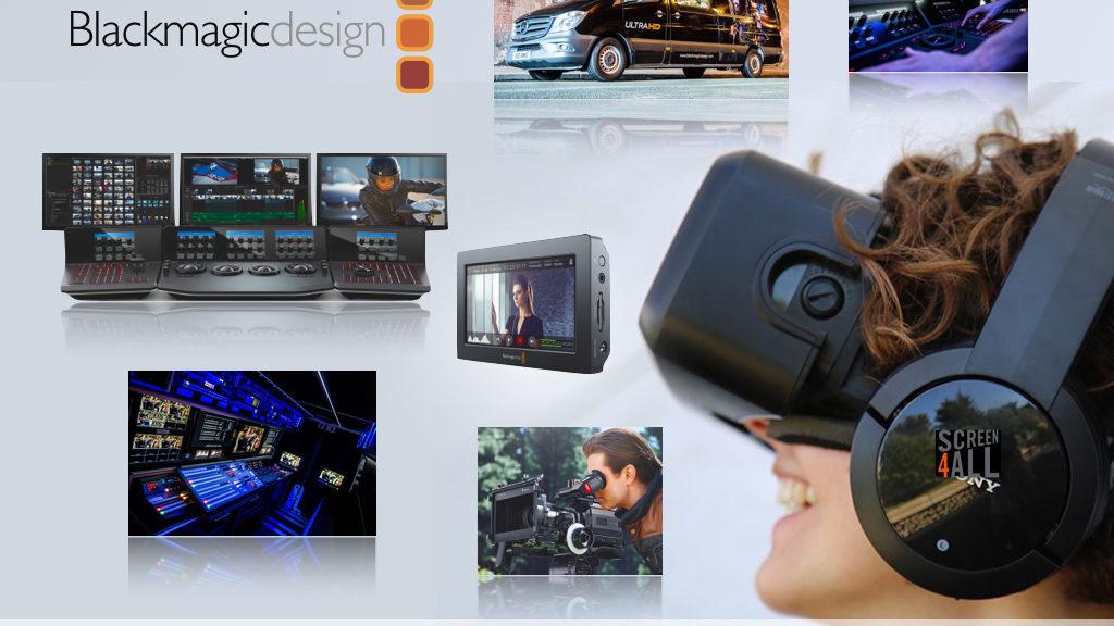 Mediakwest La Ultra Hd Experience De Blackmagic Design Sur Le Forum Screen4all Avec Un Clip Video
