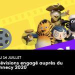 France Télévisions engagé auprès du festival d'Annecy 2020