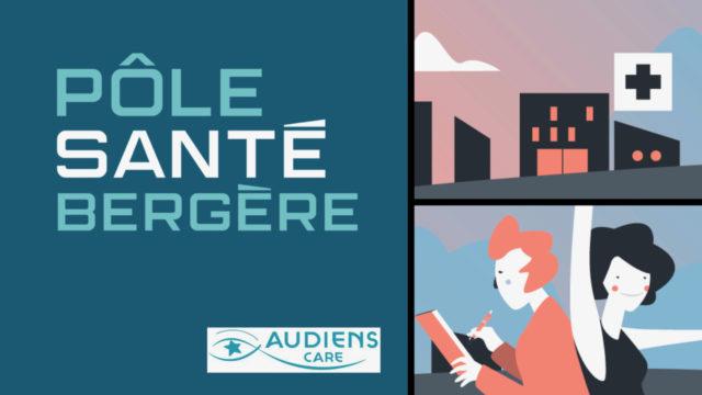 Audiens Care lance une consultation « emprise » au Pôle santé Bergère © DR