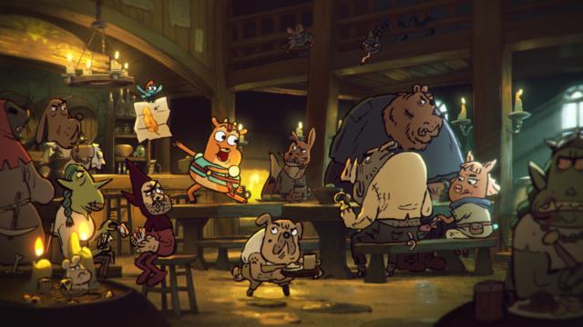The Heroic Quest of the Valiant Prince Ivandoe, taverne ©TM & © 2020 Cartoon Network