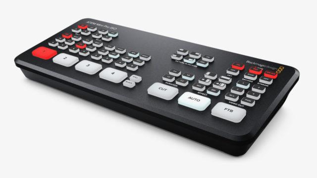 L'ATEM Mini Pro ISO est disponible dès à présent ©DR