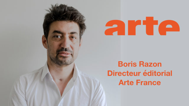 Boris Razon nommé Directeur éditorial Arte France © F. Boukla