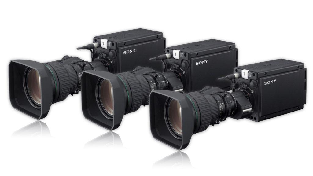 """La caméra HD compacte HDC-P31 propose des capacités HD HDR, avec un obturateur global à trois capteurs d'image CMOS 2/3"""" pour une sensibilité élevée et un faible niveau de bruit © DR"""