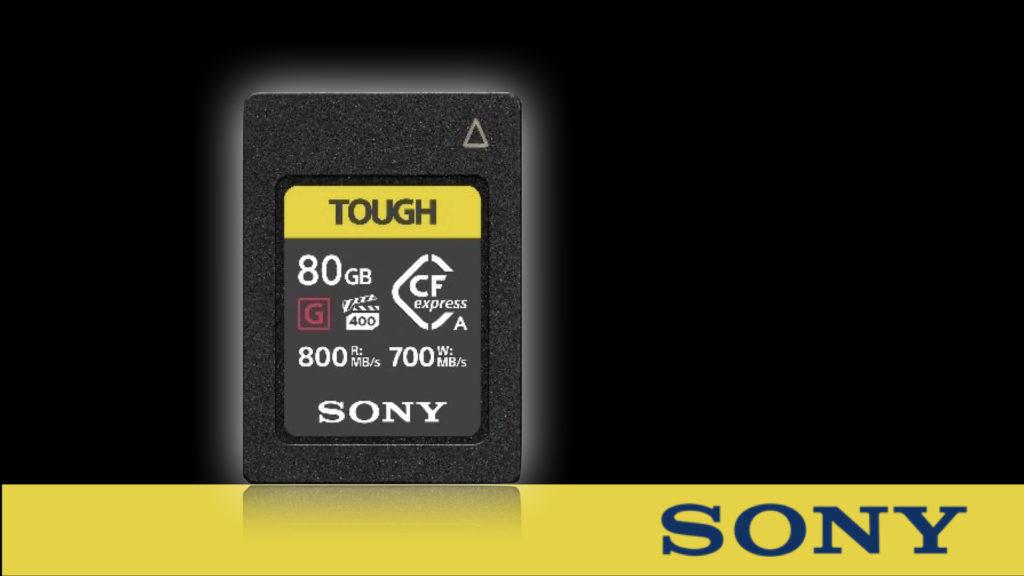 Sony s'impose avec la première carte mémoire CFexpress Type A au monde ! © DR