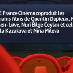 Arte s'engage sur les prochains films de Mia Hansen-Løve, Nuri Bilge Ceylan, Vesela Kazakova et Mina Mileva, et celui de Quentin Dupieux © DR