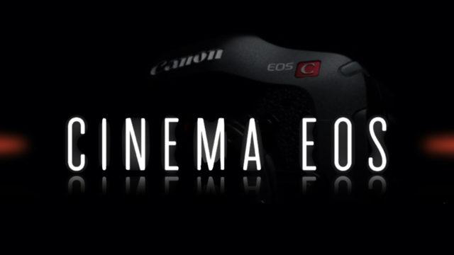 Découvrez le tout nouveau Canon EOS Cinema ! © DR