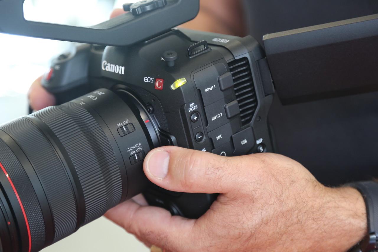 La C70 intègre de véritables filtres gris neutre
