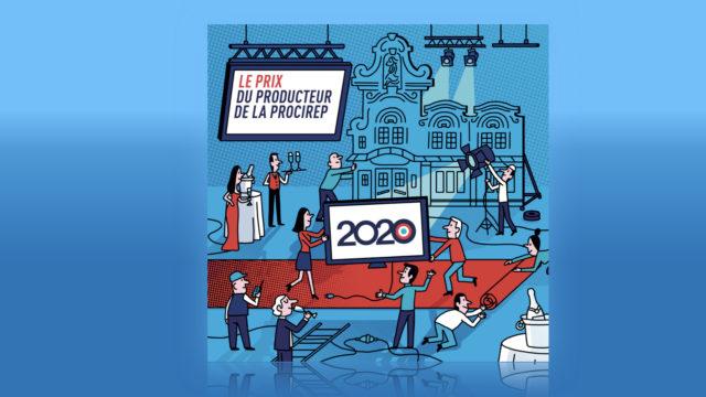Les nommés du 26e Prix du producteur français audiovisuel © DR