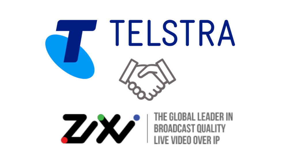 Distribution de vidéo live : Telstra et Zixi s'unissent © DR