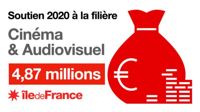 Région Île-de-France : près de 5 millions d'euros pour le soutien de la filière cinéma et l'audiovisuel © DR