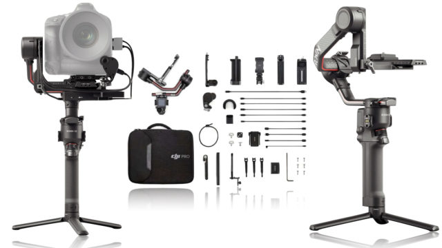 Les deux nouveaux systèmes RS 2 et RSC 2 offrent une nacelle-caméra à 3 axes extrêmement robuste, polyvalente et professionnelle à la communauté des réalisateurs et des créateurs de contenus qui trouveront ici de multiples réponses à leurs besoins.