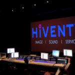 Hiventy a choisi E Majuscule pour ses câblages audio et vidéo © DR
