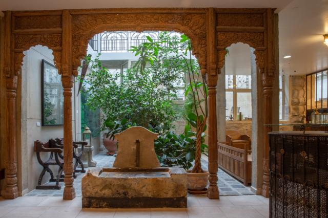 Jardin intérieur © DR