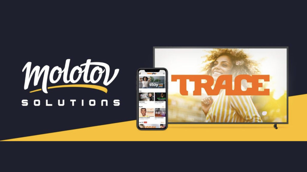 Trace développe sa plateforme OTT avec Molotov Solutions © DR