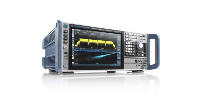 Rohde & Schwarz, premier fabricant à proposer une bande d'analyse de 1 GHz sur un analyseur de spectre et de signaux de milieu de gamme © DR