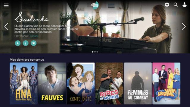 Red Bee et Dotscreen ont accompagné la nouvelle plateforme de TV5MONDE © DR