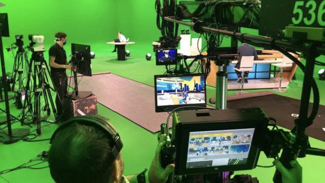 AMP VISUAL TV aux côtés du SATIS © DR