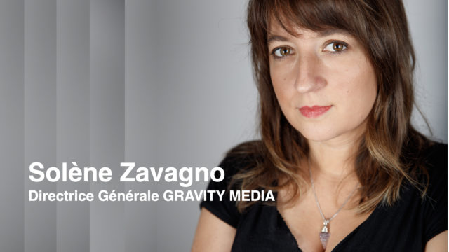 Solène Zavagno nommée directrice générale de Gravity Media en France © DR