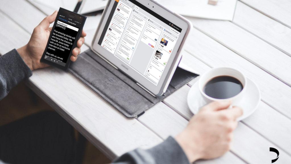 Digital first : Dalet Pyramid offre une solution nouvelle génération pour la production et la distribution d'actualités © DR