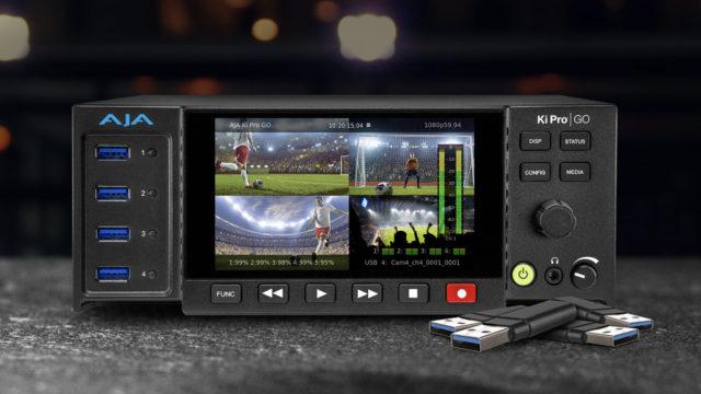 AJA présente Ki Pro GO v3.0 avec un nouveau mode d'enregistrement réseau © DR