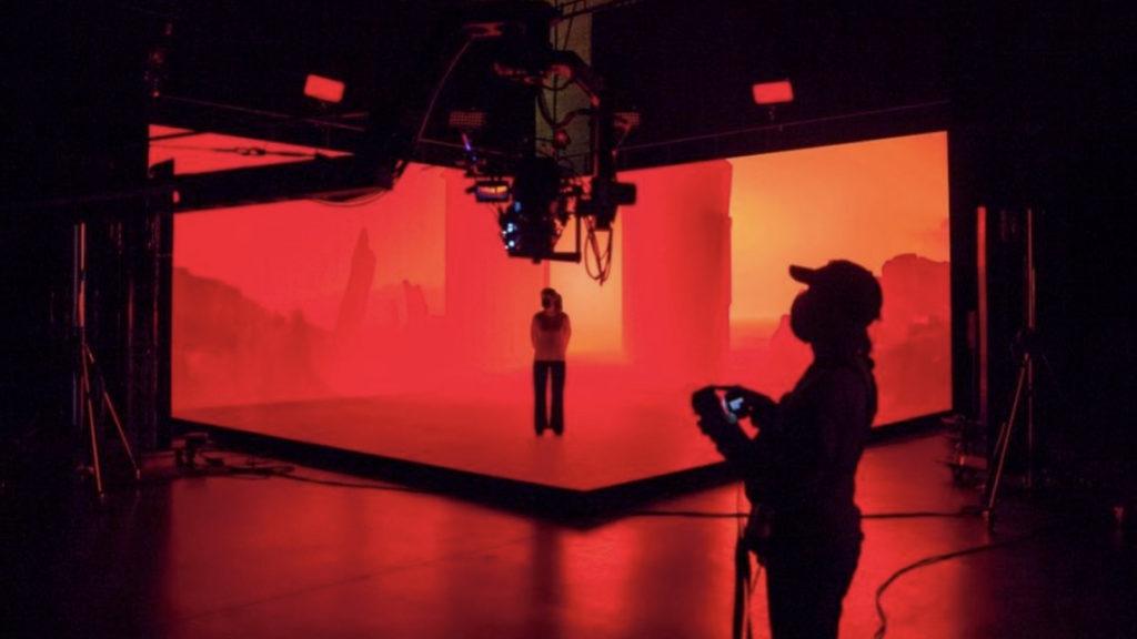 Le tout nouveau studio de production XR de Pure View basé à Saint Denis © DR