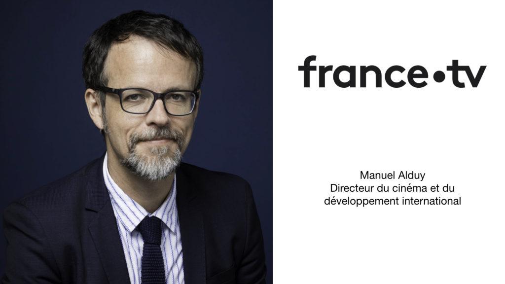 Manuel Alduy, nommé Directeur du Cinéma et du Développement international chez France Télévisions © DR