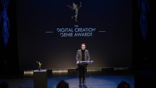 Les GENIE Awards remettent leurs prix à tous les talents des effets visuels © Pauline Maillet