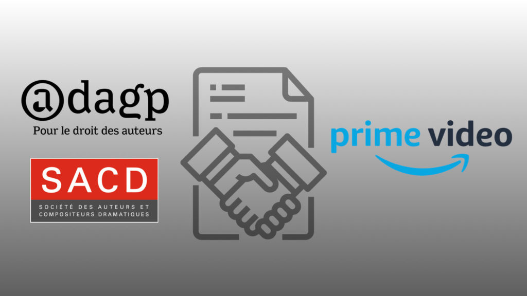 La SACD et l'ADAGP signent un accord avec Prime Video en faveur des auteurs © DR
