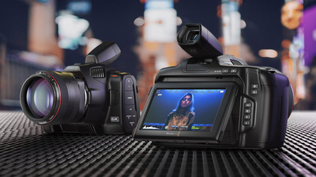 Blackmagic Pocket Cinema Camera 6K Pro… Action !