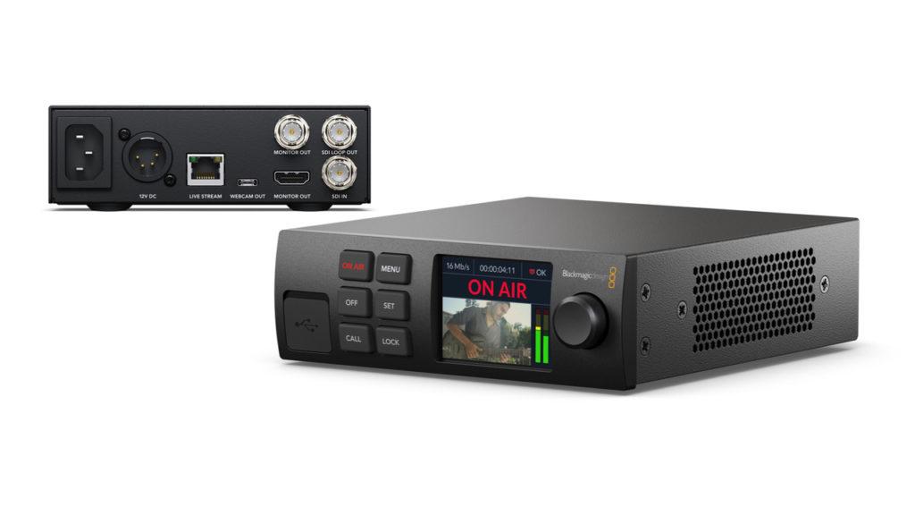 Streaming : Compacité, efficacité et fiabilité pour le nouveau Blackmagic Web Presenter © DR