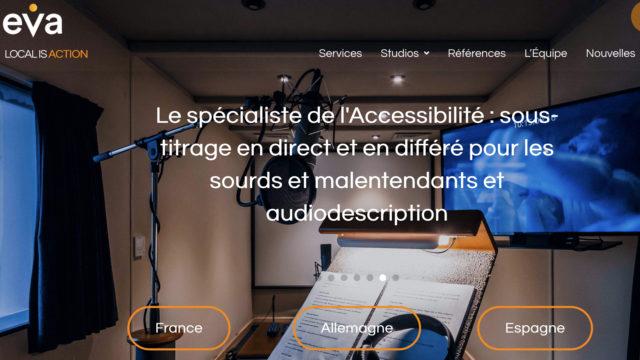 Eclair Versioning § Accessibility devient EVA et renforce ses ambitions à l'international © DR