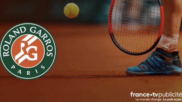 Des offres toujours plus innovantes pour FranceTV Publicité à l'occasion de Roland-Garros 2021 © DR