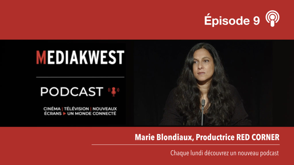 Marie Blondiaux, productrice chez Red Corner © DR
