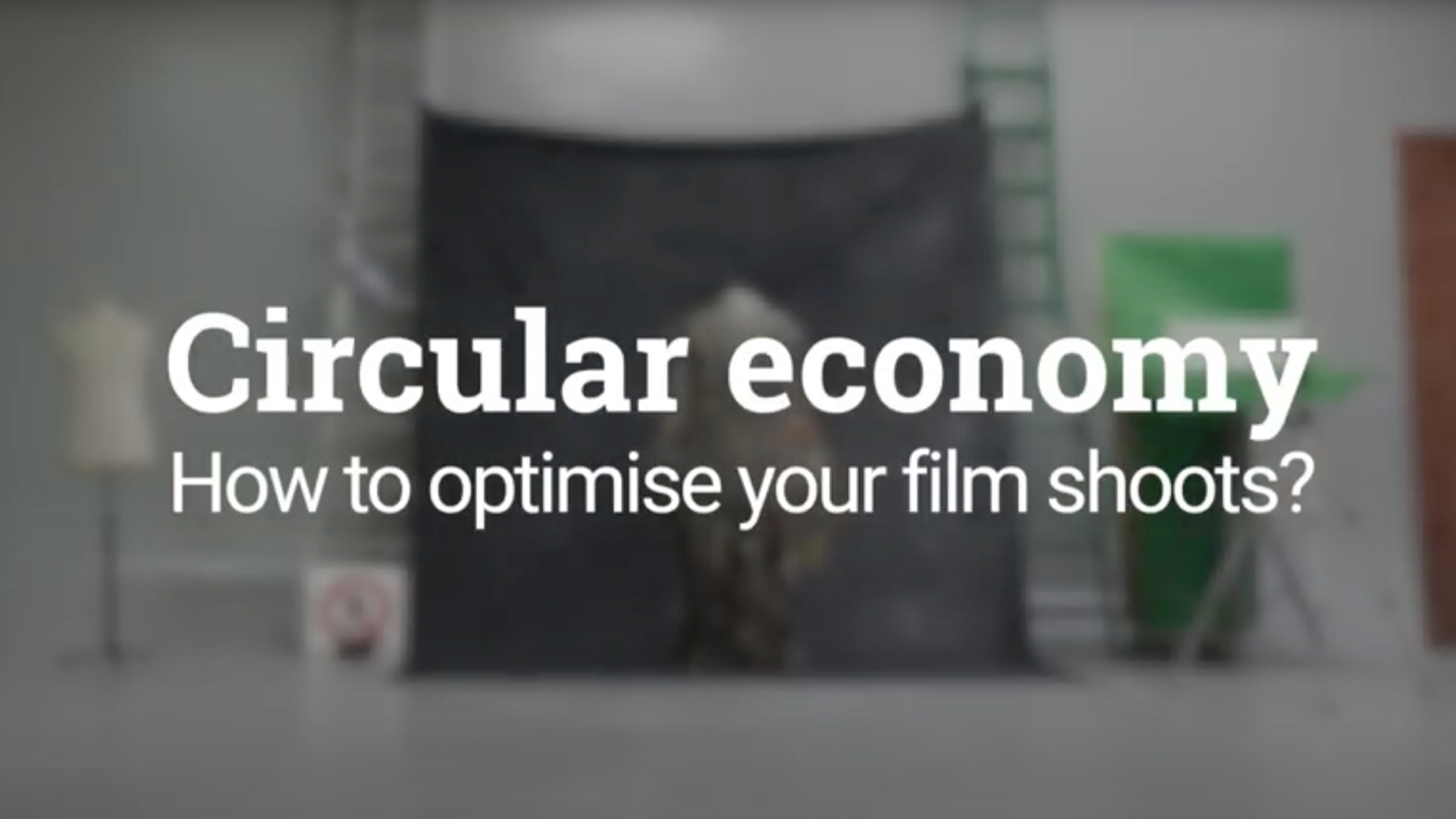 Circul'Art 2 : la filière Image passe au donut et à l'économie circulaire éco-responsable !