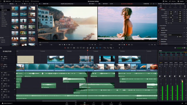 Blackmagic DaVinci Resolve 17... Visite guidée ! © DR