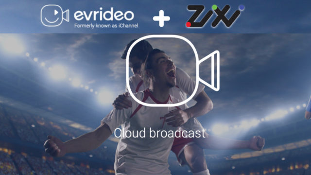 Diffusion linéaire en direct dans le cloud : Evrideo et Zixi s'associent © DR