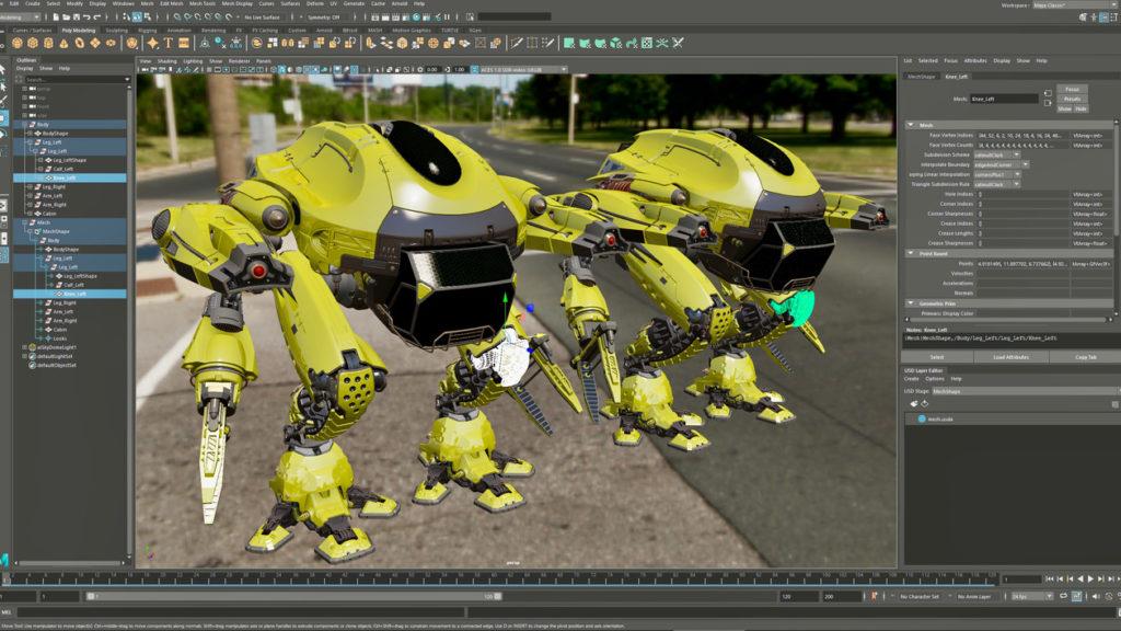 Maya 2022, une boîte à outils vraiment plus puissante © DR