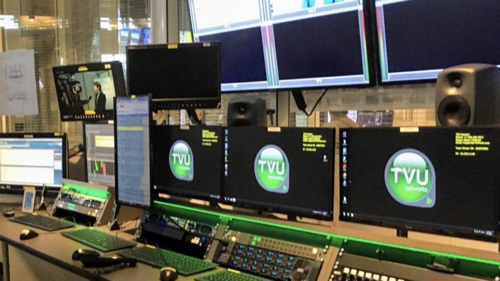 8 serveurs de réception TVU Network au PCinfo de France Télévisions génèrent jusqu'à 8 duplexes simultanément... © DR