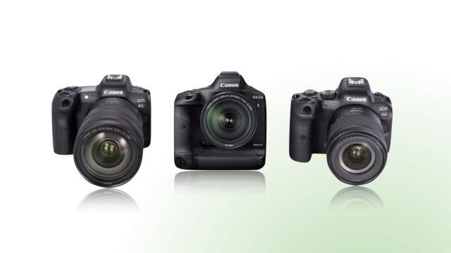 Flux photo et vidéo : Canon met à jour les firmwares de trois de ses boîtiers EOS pro © DR