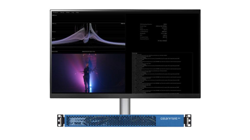 Colorfront lance un nouvel outil pour la diffusion à distance de sessions de Post-Production et d'étalonnage © DR
