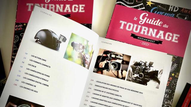 Le Guide du Tournage…plus de 260 pages dédiées aux outils de tournage ! © Nathalie Klimberg