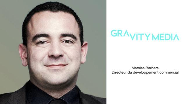 Mathias Barbera rejoint Gravity Media en tant que Directeur du développement © DR