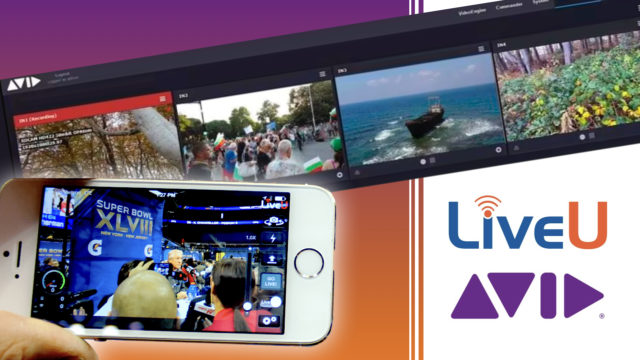 Une contribution IP à distance sécurisée avec Avid mediacentral | LiveU © DR