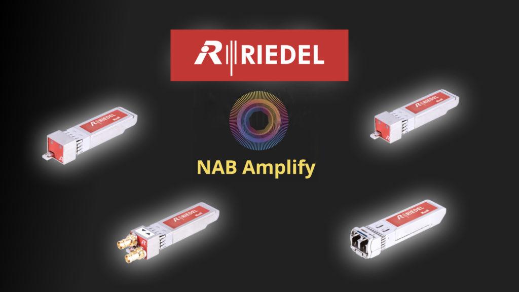 Riedel séduit toute la planète audiovisuelle avec Mediornet Muon ! © DR