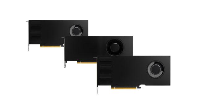 GTC21 : PNY annonce le lancement des nouvelles cartes graphiques professionnelles NVIDIA RTX A5000 et A4000 © DR