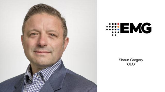 Shaun Gregory, nouveau CEO du Groupe EMG © DR