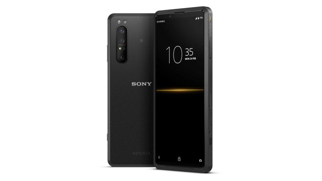 Sony lance le Xperia PRO, premier smartphone 5G au monde avec une entrée HDMI dédiée © DR