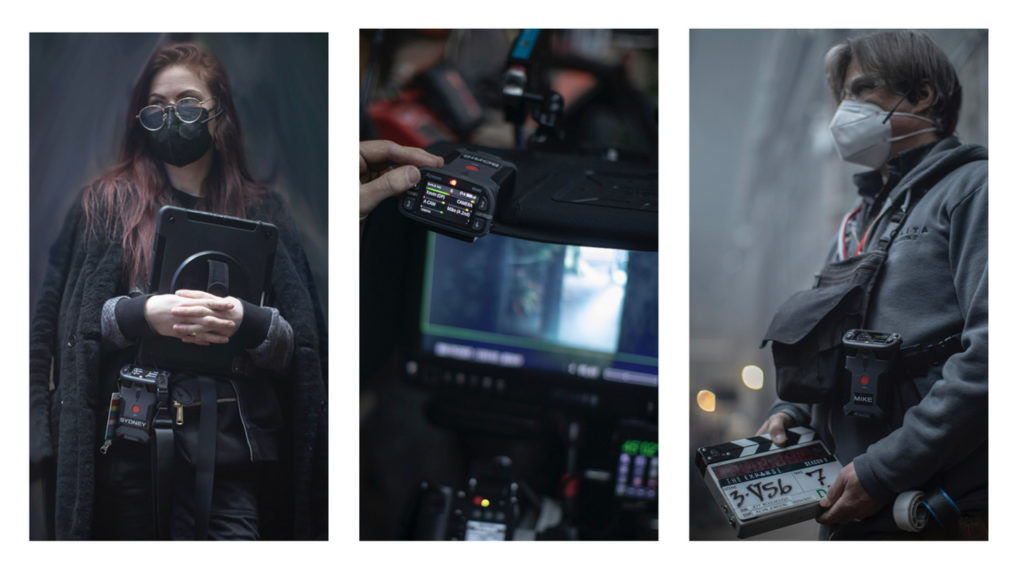 Le système d'interphone Bolero, star des plateaux de tournage © DR